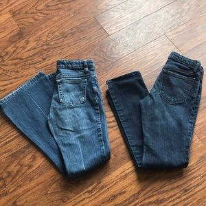 Other - 2 pairs of girls jeans. Size 12 slim